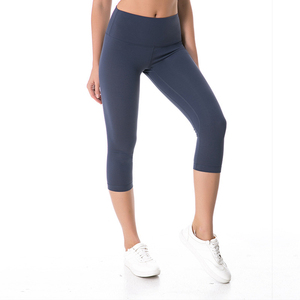 Customize quality Ombre fitness activewear OEM tag wholesale gym wear capri yoga legging