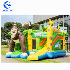 Durable inflatable bouncy castle,inflatable jumping animal toy,inflatable animal bouncers