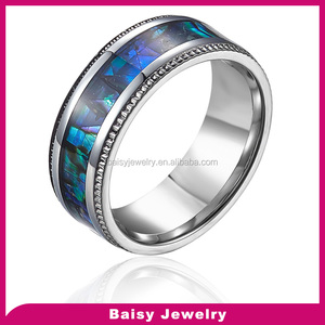 Cheap Fashion New Style Wholesale stainless steel inlay ring blank setting