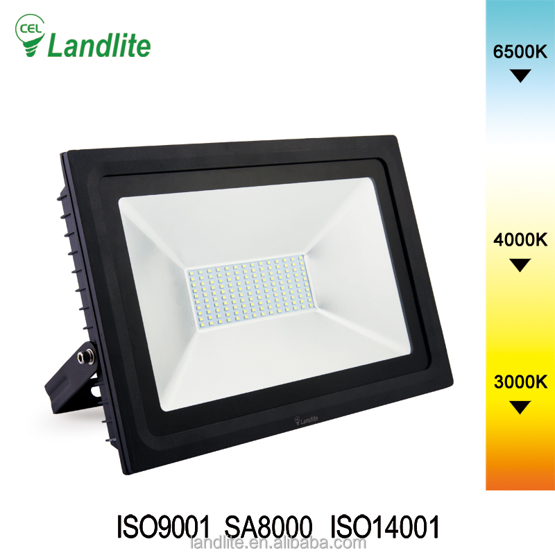 Landlite Led Flood Light Spotlight Foco Led Street Outdoor Lighting Lamp 30w 50w 100w 150w 200w Rgb Led Floodlight