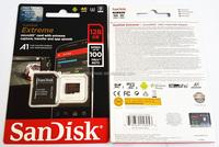SDSQXAF-128G MicroSD Extreme V30 A1 U3 4K R100/W60 Memory Card