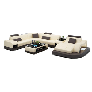 2018 living room leather sofa set modern luxury american style furniture sofa