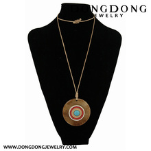 Dongdong new round plastic decorative Necklace