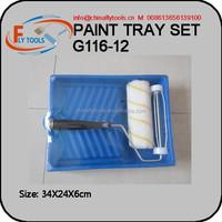 1 pc Roller Brush Paint Tray Set