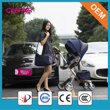 Polyester Material and Aluminum Alloy Frame Material baby stroller with carriage prices