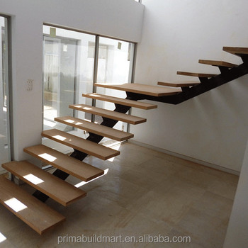 Cheap For Straight Staircase Bamboo Tread Staircse Made In China   Buy  Hight Quality Indoor Wood Stairs,Stairs Stringer,Floating Staircase Price  ...