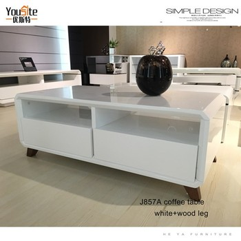 Home Furniture White Board Tea Table Fair Price Coffee Tables