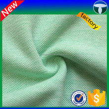 100 cotton pique fabric for polo shirt 100% cotton