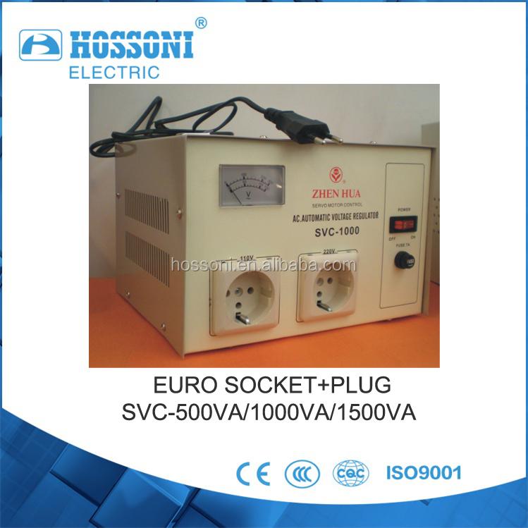 Zhenhua,Svc-1500va,Servo Motor Type,Stabilizer,Avr,Auto Regulator ...
