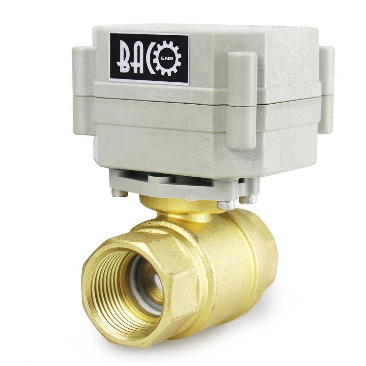 Baco Engineering 3//4 DC12V NPT Stainless Steel NC Electric Solenoid Valve
