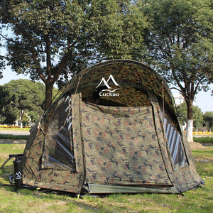 waterproof 10000mm polyester inflatable fishing tent carp bivvy