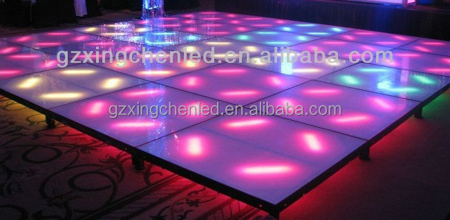 Guangzhou Matrix Beam LED Dance floor Warm white/cold white/Amber/Red RGBW 4in1 select