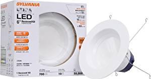 Sylvania 70699 10-watt 700 Lumen 2700K Recessed Downlight Kit by Sylvania