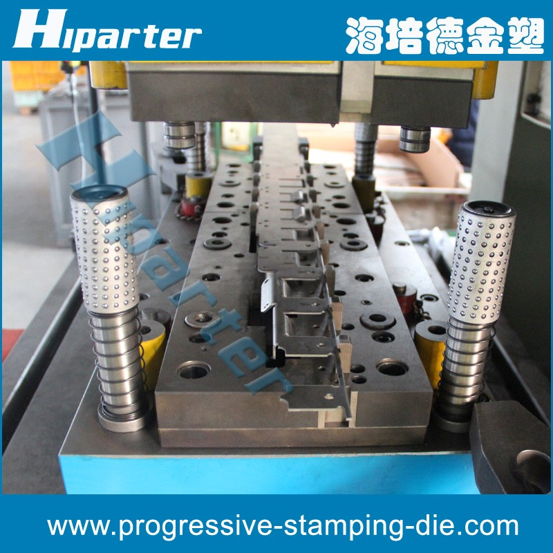 Progressive Metal Hinge Press Tool Stamping Tooling