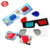 Custom Logo Paper 3D Glasses / Anaglyph glasses for TV Viewing