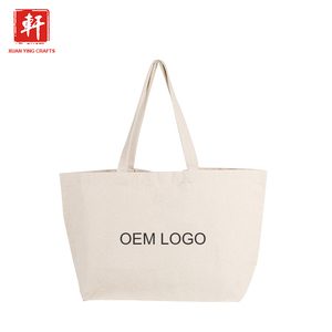 Wholesale tote bag cotton canvas shopping,custom standard size cotton tote bag