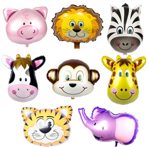 Large animal helium balloon foil animal shape balloonn for party