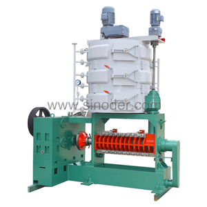 Supply soybean sunflower commercial hydraulic screw oil press machine cottonseed oil expeller mill coconut oil refinery plant