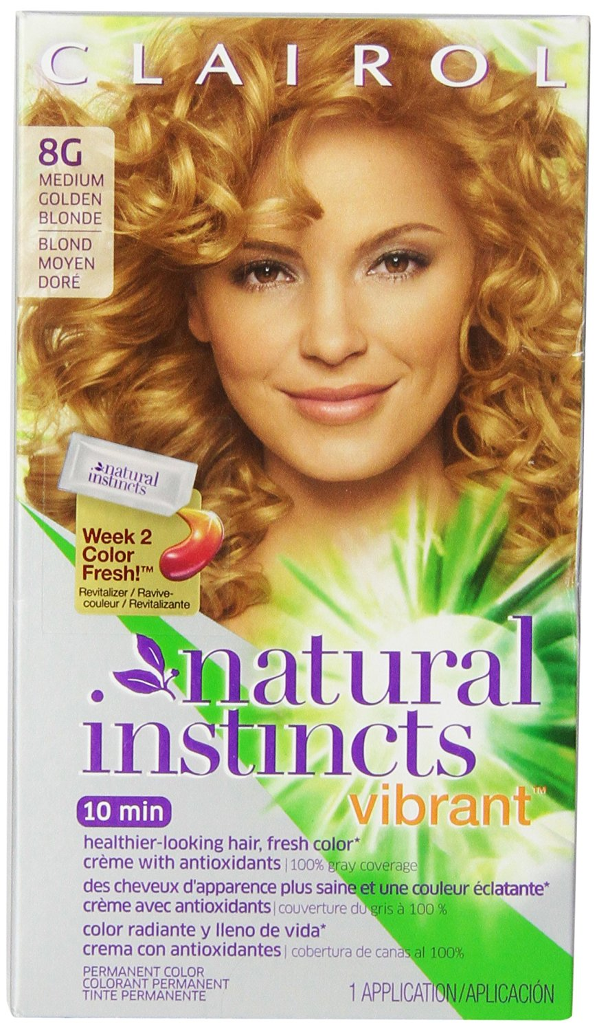 Buy Clairol Natural Instincts Vibrant Permanent Hair Color 8g
