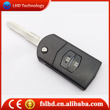 Hot Sale Mazda 2 buttons key cover for Mazda smart key shell