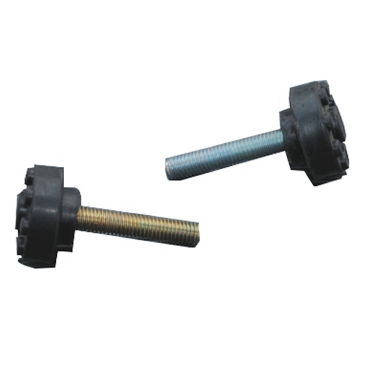 Easy use vibration rubber shock absorber screw for air conditioner bracket