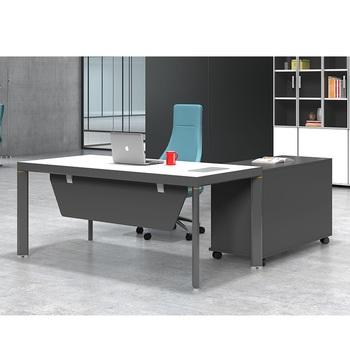 Latest Modern Executive Desk Office Table Design Wooden Office Desk