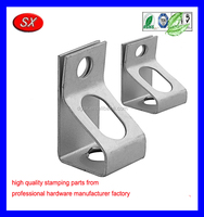 custom CRS Zinc plate Threaded Rod Hanger STEEL FABRICATION PANT clip
