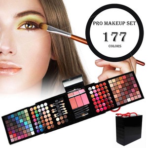 Makeup private label Makeup cosmetics Eye-Shadow palette 180 color blush palette Romantic Color Eye Shadow