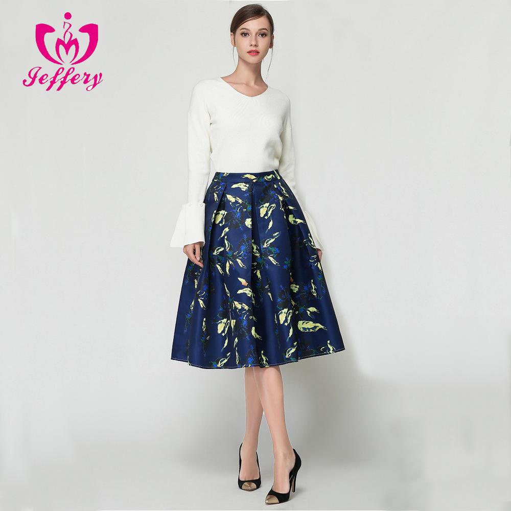 9b838ed4e0 Nuevo 2017 algodón de alta en la cintura vestido de princesa color una palabra  falda D1005