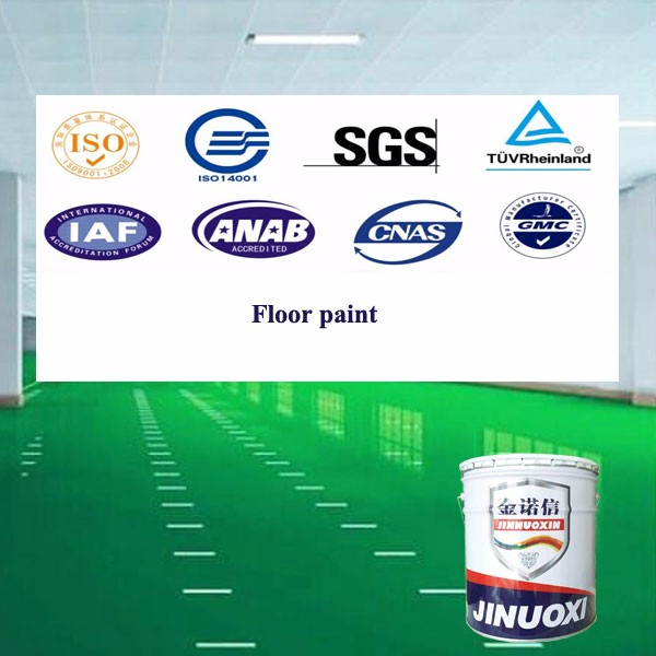 Factory mannufactures solvent-type epoxy floor coating