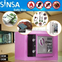 Electronic Hotel Safe,digital box, fireproof safe deposit cheap safe box for girl