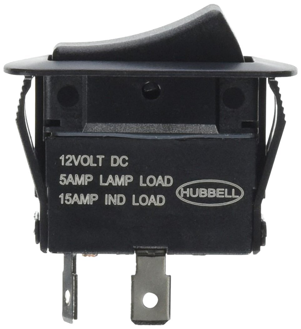 Cheap 4 Pole Single Throw Switch Find 15 Amp 2 Toggle Switches With Back And Side Wiring White Get Quotations Hubbell Systems Mr11sp Rocker