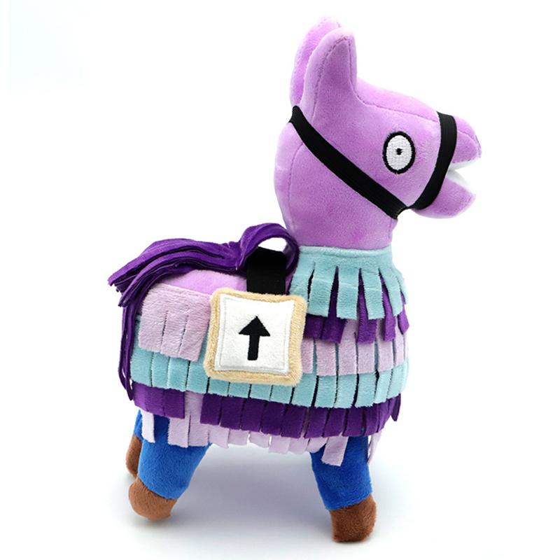 2019 New Arrival Amazon Alpaca Rainbow Horse Plush Toy Game Llama