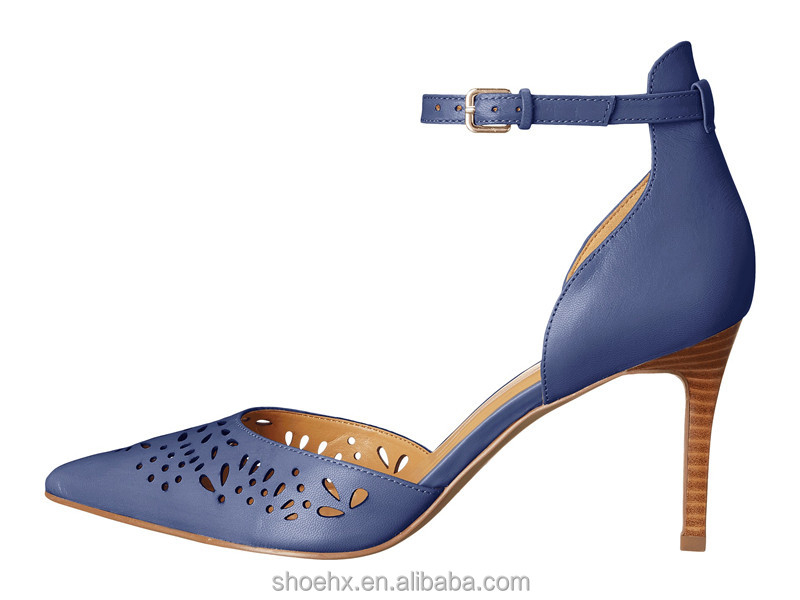 shoes style with heel perforated detailing stacked upper with modern leather qgwzd7q5