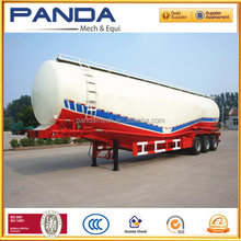 China supplier 40 cbm fly ash transport trailers/ cement carrier truck trailer/ pressure tank trailer sale kenya