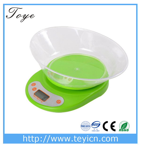 Ty 202 kitchen scale bluetooth digital food scale slim for Bluetooth kitchen scale