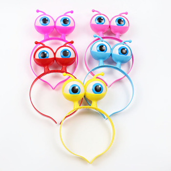 Wholesale flash big eye ball hair band party supplies Halloween headwear