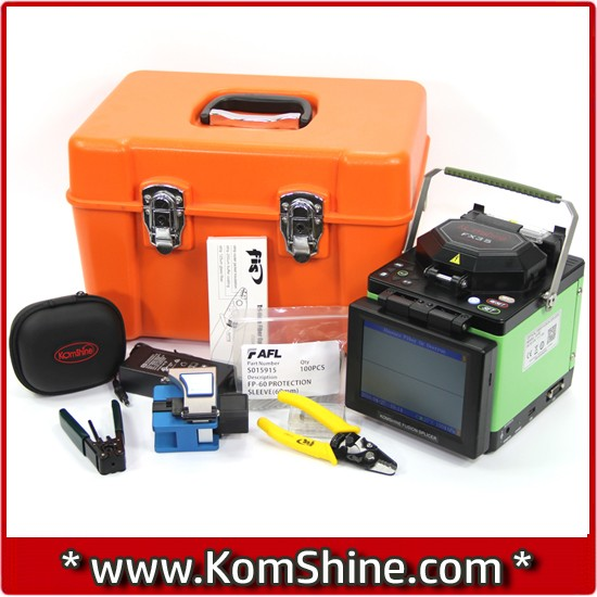 USB interface Komshine FX35 fiber optic splicer equal to Korea INNO view5 arc fusion splicer