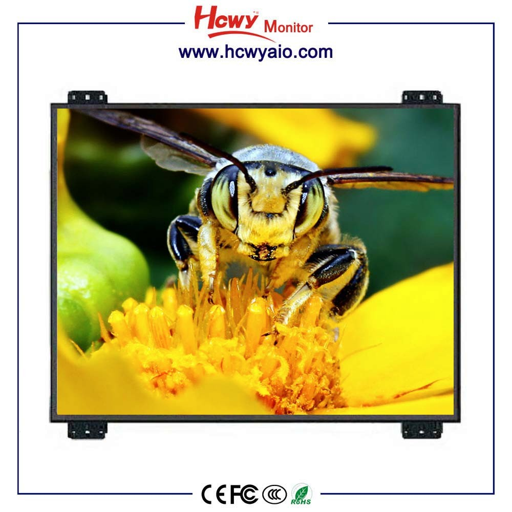 Leading Manufacturer 12inch No Frame TFT LCD Monitor With Metal Case