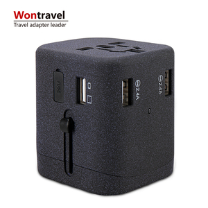 Worldwide Travel Adaptor USB Fast Charger 5V Adapter Chargers electrical multi socket plug