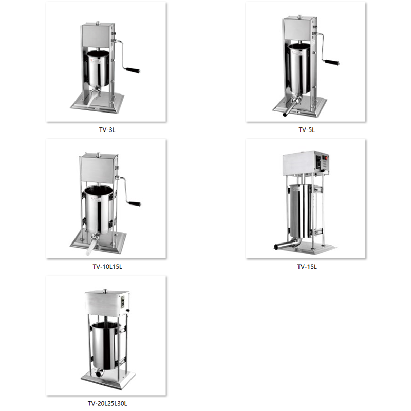 15L Heavy Duty Vertical Electric Sausage Filling Machine Stuffer Canada