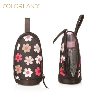 factory price Insulated baby nursing thermal bottle bag with hanging buckle