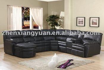 Genuine Leather Sofa,Corner Sofa,Recliner Leather Sectional Sofa ...