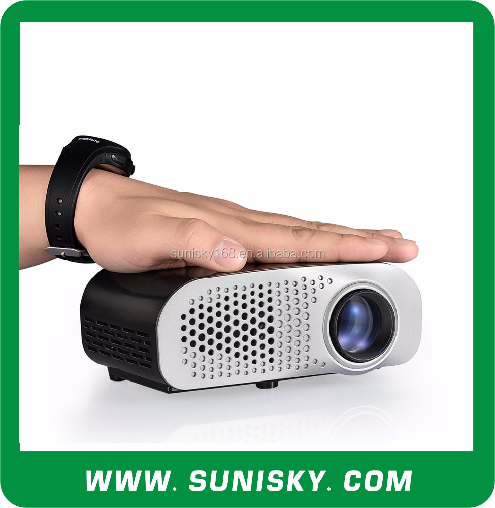 New 2016 LED Pico Projectors easy to bring with HDMI for Home Theatre (SMP8802)