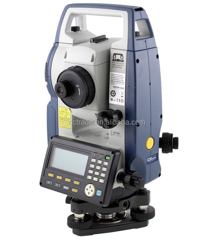 Reflectorless optical equipment sokkia CX105 best total station