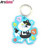 Artigifts best quality promotion custom 3d pvc keychain