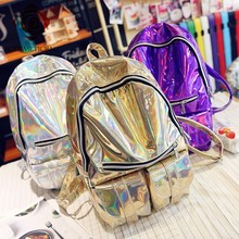 China Supplier Top Rank Shiny Fashion Waterproof Backpack in 2017