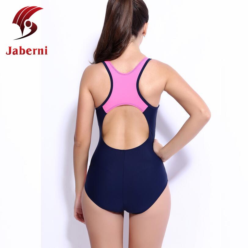 1f6556c663857 Plus Size 4XL Professional Swimsuit Competition Bathing Suit Swim Train Swimwear  Sexy Race One Piece School Sport Women Monokini