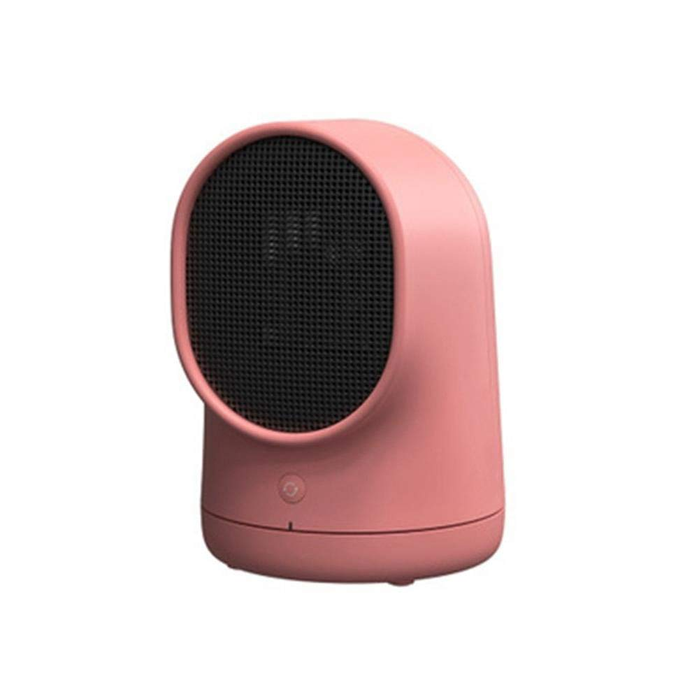Hongxin Mini Electric Heater,1pc Home Personal Portable Air Heating Fan Desktop Hot Blowers Energy-Saving Electric Radiator Fan Good Partner for Learning and Working (Red, One Size)