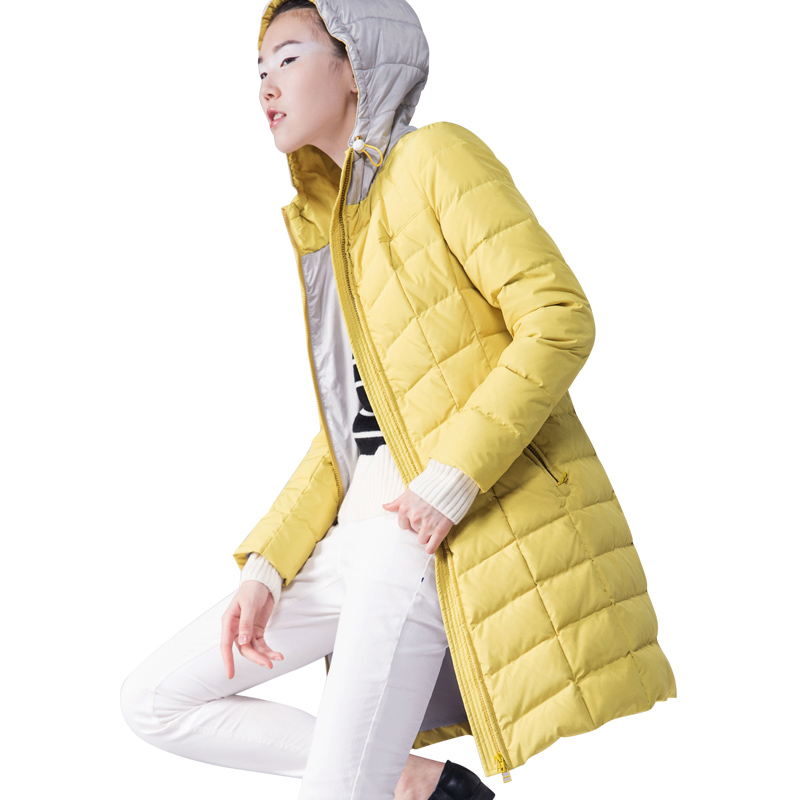 Europe 2016 New Fashion font b Winter b font Women Thin light White Duck Down Jacket